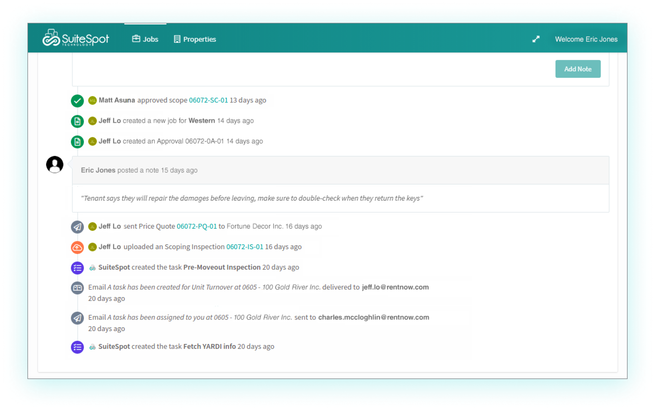 Desktop - audit trail